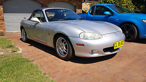 2000 Mazda MX5 NB8A Engadine Sutherland Area Preview