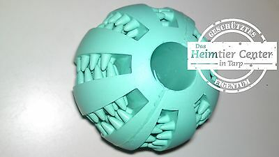 langlebiges Hunde Welpen Spielzeug zur Zahnpflege ø 7 cm Bälle Ball Naturgummi