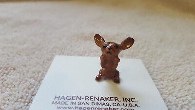 Hagen Renaker Dog Chihuahua Pup Brown Figurine Miniature New Free Shipping 03381