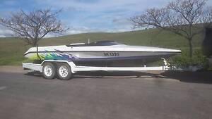 Skicraft ski boat Farrell Flat Goyder Area Preview