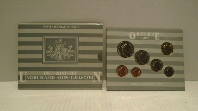 ROYAL AUSTRALIAN MINT UNCIRCULATED COIN SET 1987 MS20