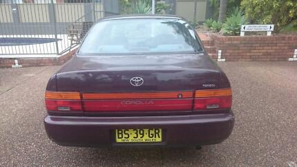 1996 Toyota Corolla AE102X Conquest Sedan 4dr Auto 4sp 1.8i Terrigal Gosford Area Preview