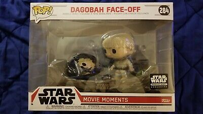 FUNKO POP! STAR WARS MOVIE MOMENTS DAGOBAH FACE-OFF SMUGGLERS BOUNTY EXCL #284