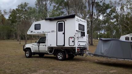 AUSSIE ROADRUNNER 7.9S SLIDE-ON CAMPER Deepwater Gladstone Area Preview
