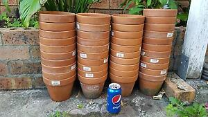 41 x Garden Terracotta Plant Pots for Sale Glenfield Campbelltown Area Preview