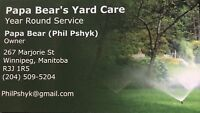 Snow Removal/Clearing by Papa Bear's Yard Care