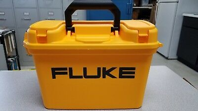 Fluke C1600 Meter Gear Box Tool Box 10 H-6 45w- 13 L Free Fluke Set Ac72
