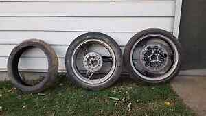 WR426/450 motard wheels Bolwarra Maitland Area Preview