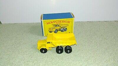 Matchbox No.6  Euclid Quarry Truck