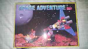 Space adventure lego like building blocks Highfields Toowoomba Surrounds Preview