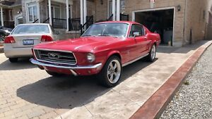 1968 Ford Mustang Fastback Original Numbers Matching!!