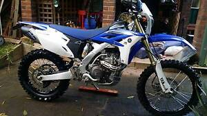 YAMAHA WR450 2012 Winmalee Blue Mountains Preview