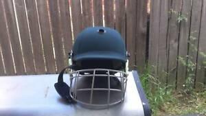 Junior Cricket helmet and leg pads