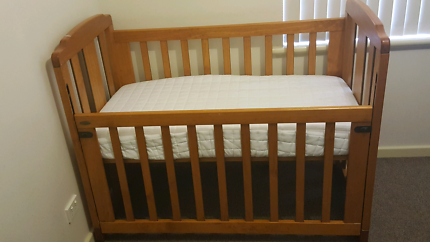 BABY COT AND TALL BOY (FREE MATTRESS)