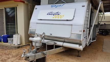 Gazal 18ft pop top caravan Biggenden North Burnett Area Preview
