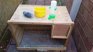 Breeding cage nd cage with breeding box Hallam Casey Area Preview