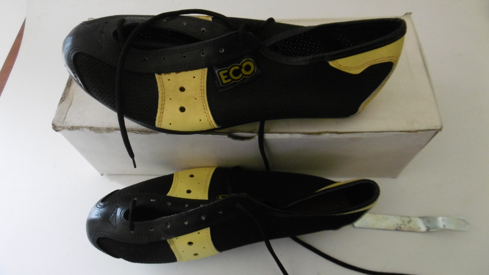 Vintage Cycling Shoes Size 40 Made In Italy NOS