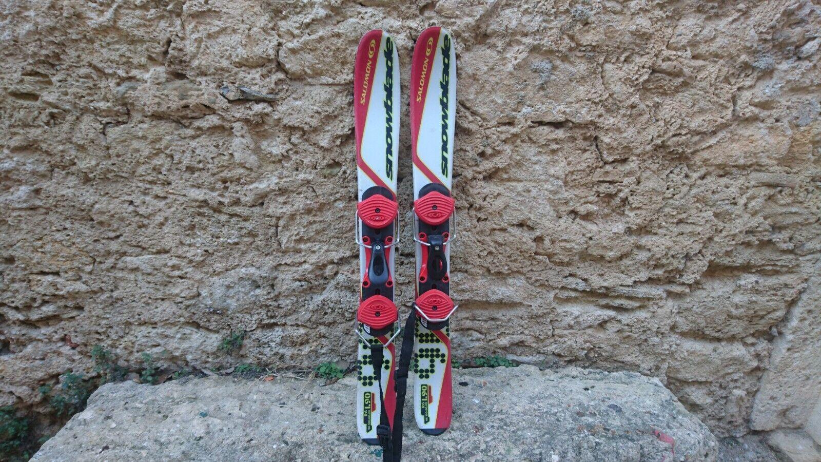 SNOWBLADE SALOMON 90cm PATINETTES MINISKIS MINI SKIS