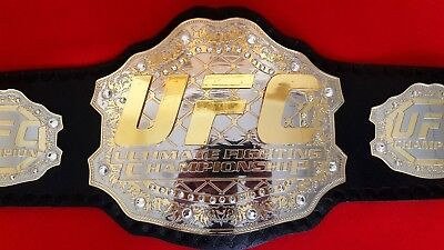 UFC Ultimate Fighting Championship Leather Belt Replica Adult Size for sale  USA