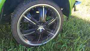 "20"" multi fit 5 stud rims. Fit Holden AND Ford Millaa Millaa Tablelands Preview"