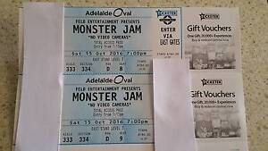 Monster Jam - Adelaide Oval- 2 x Total Access Passes Gawler Gawler Area Preview