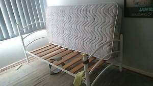 SINGLE BED AND MATTRESS St Helens Park Campbelltown Area Preview