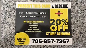 20%OFF Stump Removal
