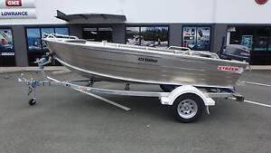 2016 Stacer 429 Rampage + Yamaha F25DMHL 25hp 4-Stroke - NEW! Boondall Brisbane North East Preview