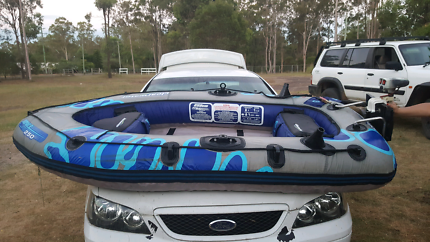 Inflatable boat..
