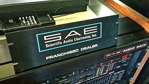 SAE STEREO amplifier,preamp,tuner,equalizer,receiver ORIGINAL DEALER SIGN xxRARE