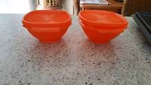 TUPPERWARE harvest orange containers - sealed - x2 Murrumba Downs Pine Rivers Area Preview
