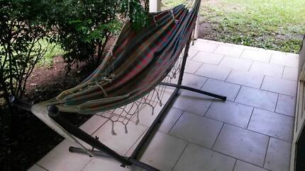 Hammock & solid stand