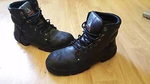 Blue Steel Steel Cap Work Boots Size 11 Birmingham Gardens Newcastle Area Preview