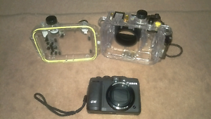 Canon G16 + waterproof case Whyalla Whyalla Area Preview