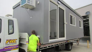 Transportable two room cabins. Can be towable. Fin Avail.