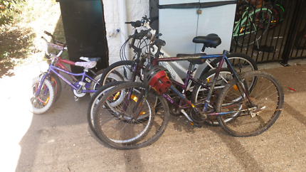 I have some push bikes up for sale