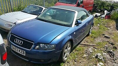 02 06 AUDI A4 B6 18T CABRIO CABRIOLET 1X WHEEL NUT FULL CAR BREAKING FOR SPARES