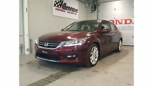 2014 Honda Accord Touring full cuir navi bas millage