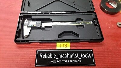 Excellentmitutoyo Japan Made 8 In Absolute Digital Caliper Machinist Toolt19