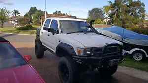 1996 toyota hilux lifted dual cab Campbelltown Campbelltown Area Preview