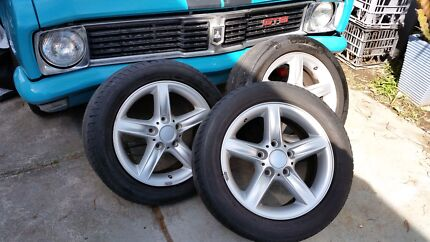 Mag wheels  fit Holders & BMW .cars A1 con cheap Busby Liverpool Area Preview