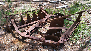 Old Ferguson Disc Plough Burpengary Caboolture Area Preview