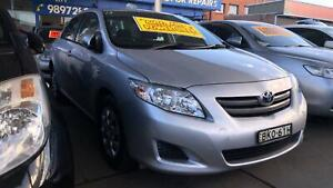 2009 Toyota Corolla Ascent ! Fully Serviced & Inspected ! Low Kms ! Granville Parramatta Area Preview