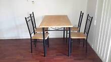 Dining table and 4 chairs Hurstville Hurstville Area Preview