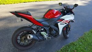 REDUCED** 2015 Yamaha R3 - only 4,500 KMs!!