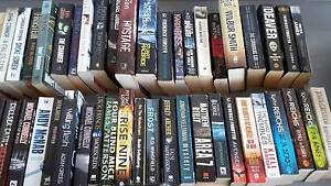 Vguc fiction books.  $1 each.  85 to choose from. Crestmead Logan Area Preview