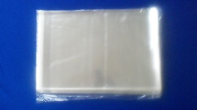 100 Sleeves Life Large Magazine Plastic Protector Clear Storage Bags