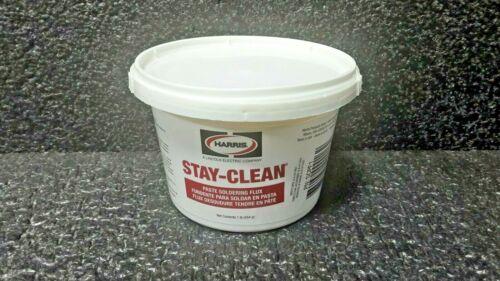 Harris SCPF1 Stay Clean Paste Soldering Flux, 1 lb. Jar (k)