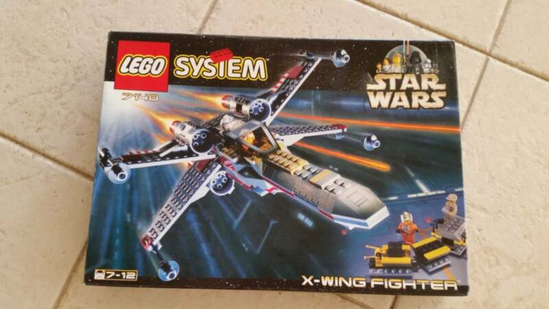 Lego Star Wars 7140 X Wing Fighter Box Instructions 100 Toys