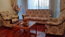 3 seat lounge chair with 2 single arm chairs Pennant Hills Hornsby Area Preview
